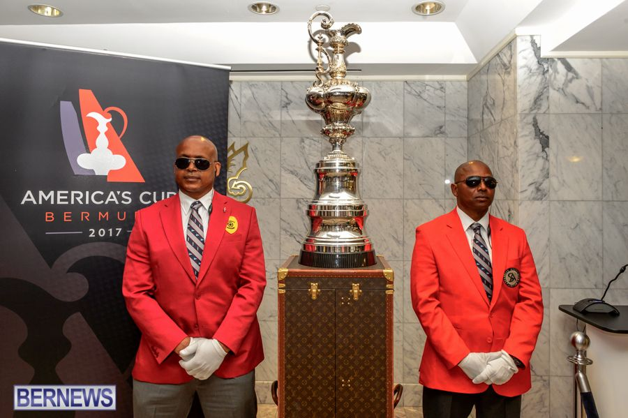 rename america cup trophy in bermuda may 2015 1