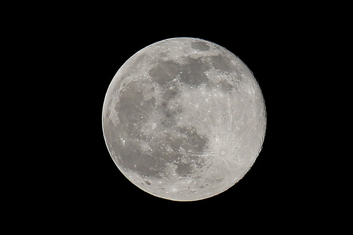 Full Strawberry Moon Rises Above Bermuda - Bernews