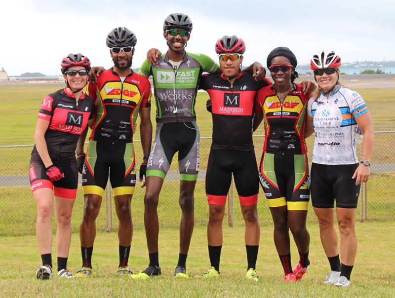 Bermuda NWIG 2015 Cycling Team