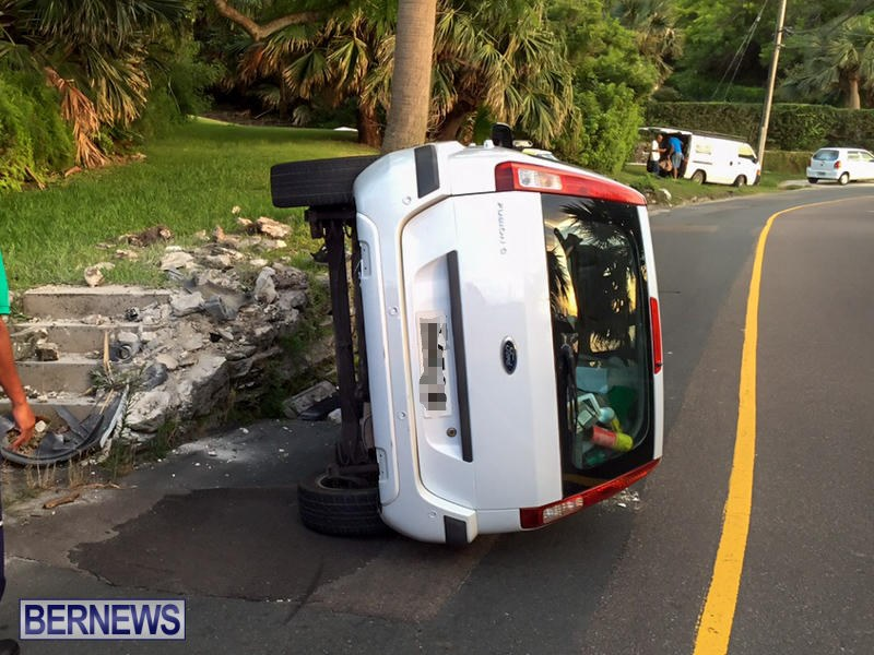 Car Accident Bermuda, June 23 2015-5