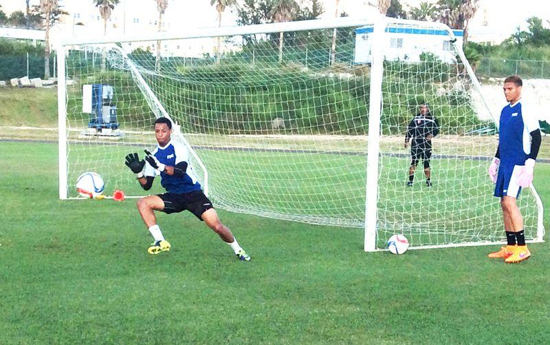 Football training 2015June3