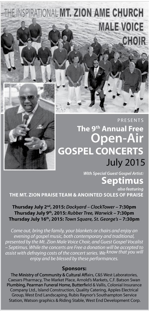Mt Zion Annual Concert