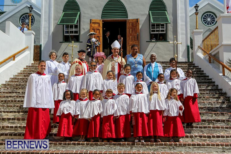 St Peter's Their Majesties Choristers Bermuda, June 28 2015-1