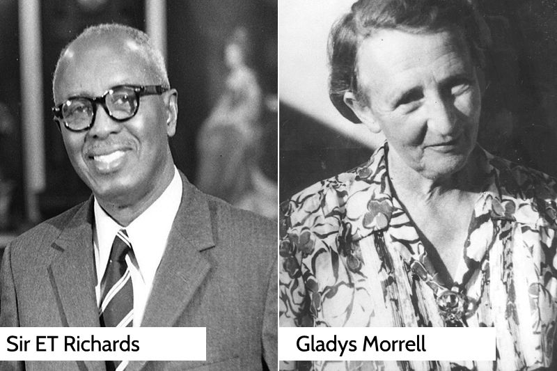 sir et richards and gladys morrell