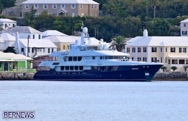 DNatalin IV superyacht bermuda july 2015