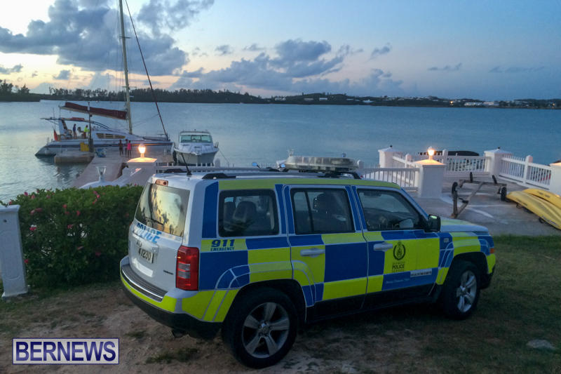 Grotto Bay Police Bermuda, July 2 2015-3