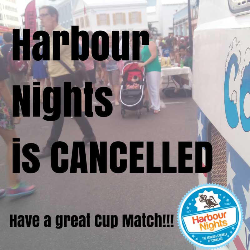 Harbour Nights is Cancelled