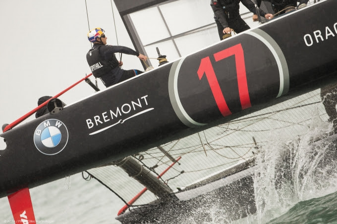 Ready to race at the America's Cup 24 Jul (2)