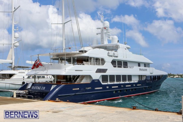 Spirit of the C's D'Natalin IV Mega Yacht Bermuda, July 21 2015-10
