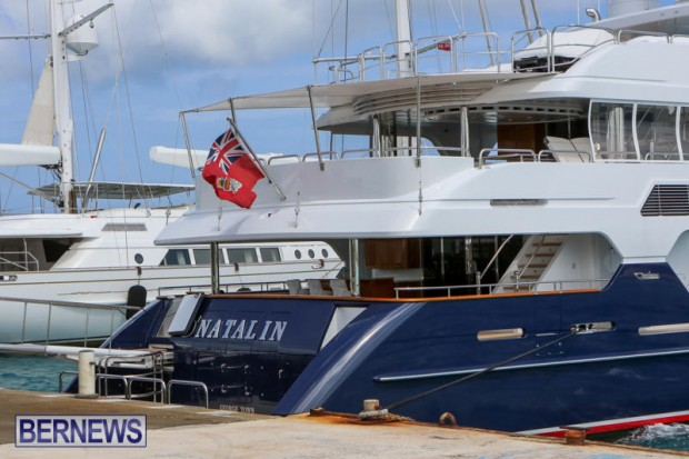 Spirit of the C's D'Natalin IV Mega Yacht Bermuda, July 21 2015-11