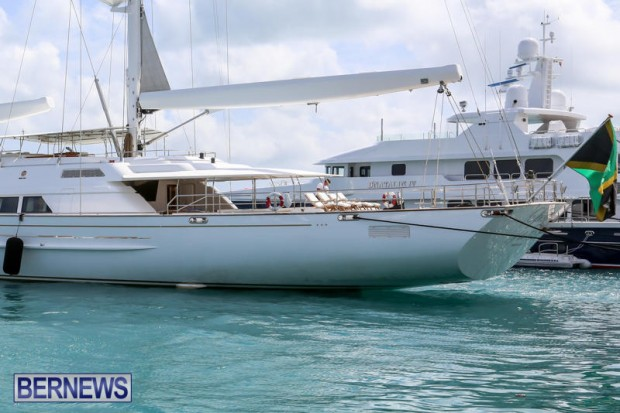 Spirit of the C's D'Natalin IV Mega Yacht Bermuda, July 21 2015-5