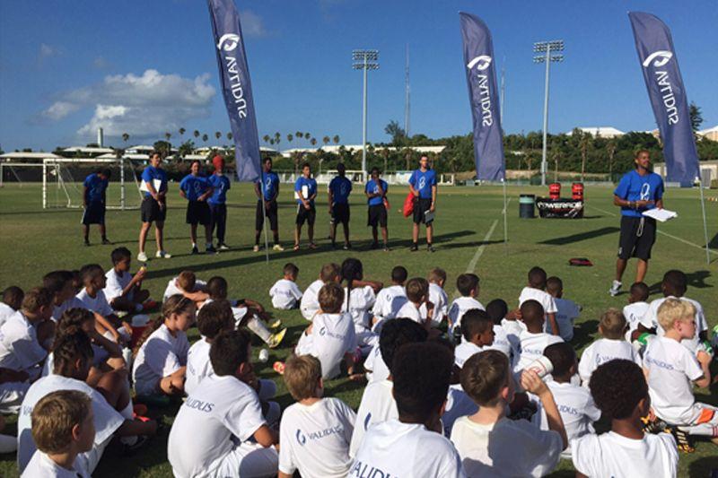 The 2015 Validus Pro Soccer Clinic 1