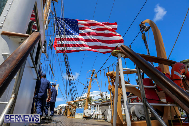 US-Coast-Guard-Tall-Ship-Eagle-In-Bermuda-July-4-2015-12