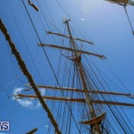 US Coast Guard Tall Ship Eagle In Bermuda, July 4 2015-34