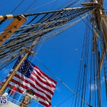 US Coast Guard Tall Ship Eagle In Bermuda, July 4 2015-36