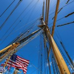 US Coast Guard Tall Ship Eagle In Bermuda, July 4 2015-37