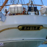 US Coast Guard Tall Ship Eagle In Bermuda, July 4 2015-40