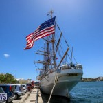 US Coast Guard Tall Ship Eagle In Bermuda, July 4 2015-41