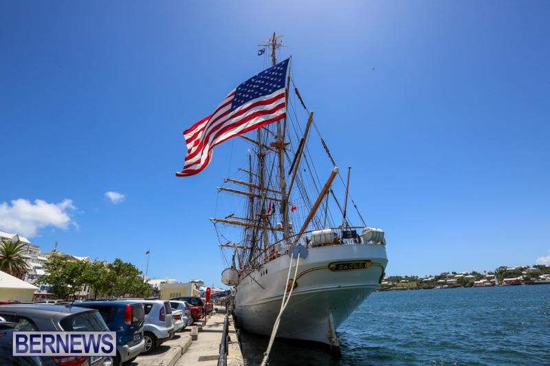 US-Coast-Guard-Tall-Ship-Eagle-In-Bermuda-July-4-2015-41