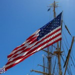 US Coast Guard Tall Ship Eagle In Bermuda, July 4 2015-42