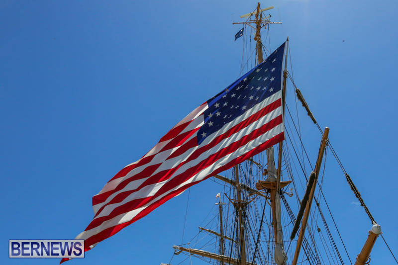 US-Coast-Guard-Tall-Ship-Eagle-In-Bermuda-July-4-2015-42
