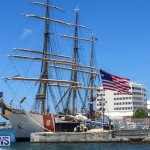 US Coast Guard Tall Ship Eagle In Bermuda, July 4 2015-45