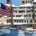 US Coast Guard Tall Ship Eagle In Bermuda, July 4 2015-46