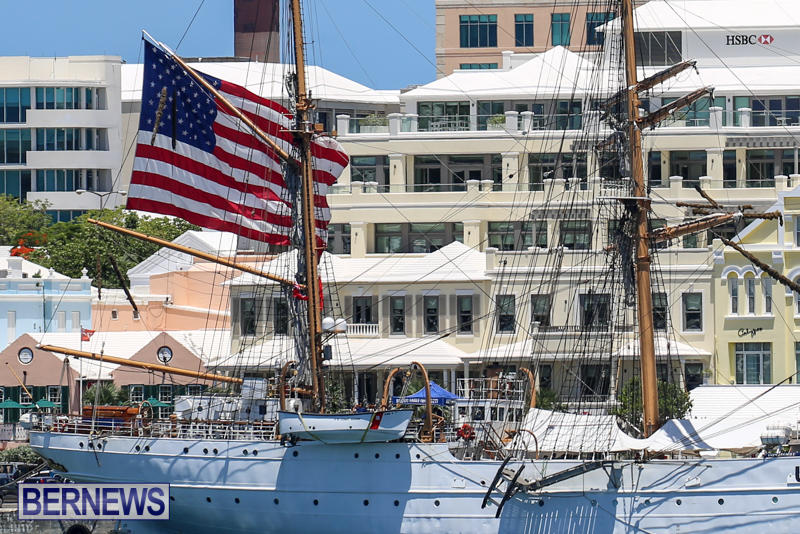 US-Coast-Guard-Tall-Ship-Eagle-In-Bermuda-July-4-2015-46
