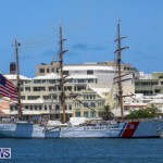 US Coast Guard Tall Ship Eagle In Bermuda, July 4 2015-47