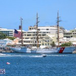 US Coast Guard Tall Ship Eagle In Bermuda, July 4 2015-48