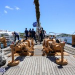 US Coast Guard Tall Ship Eagle In Bermuda, July 4 2015-7