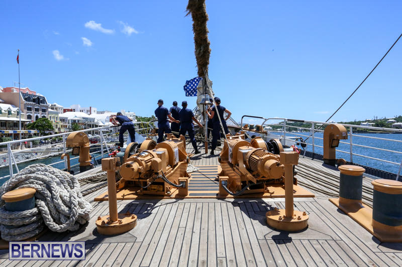 US-Coast-Guard-Tall-Ship-Eagle-In-Bermuda-July-4-2015-7