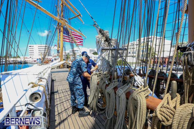 US-Coast-Guard-Tall-Ship-Eagle-In-Bermuda-July-4-2015-8