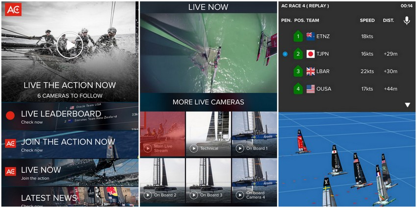 America S Cup Offer Online Coverage Amp Free App Bernews