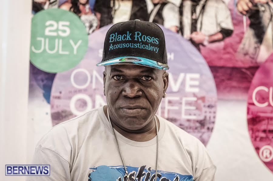 barrington levy in bermuda mall july 2015