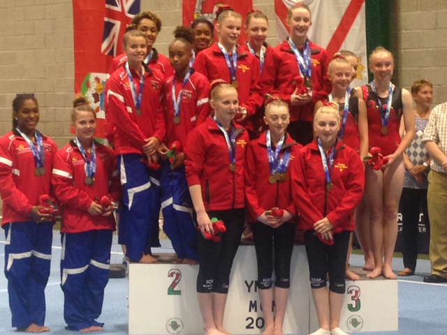 gymnastics Senior girls silver July 24 2015