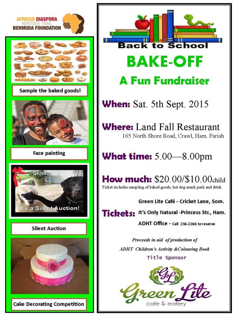 ADHT Fundraiser 24 Aug 2015