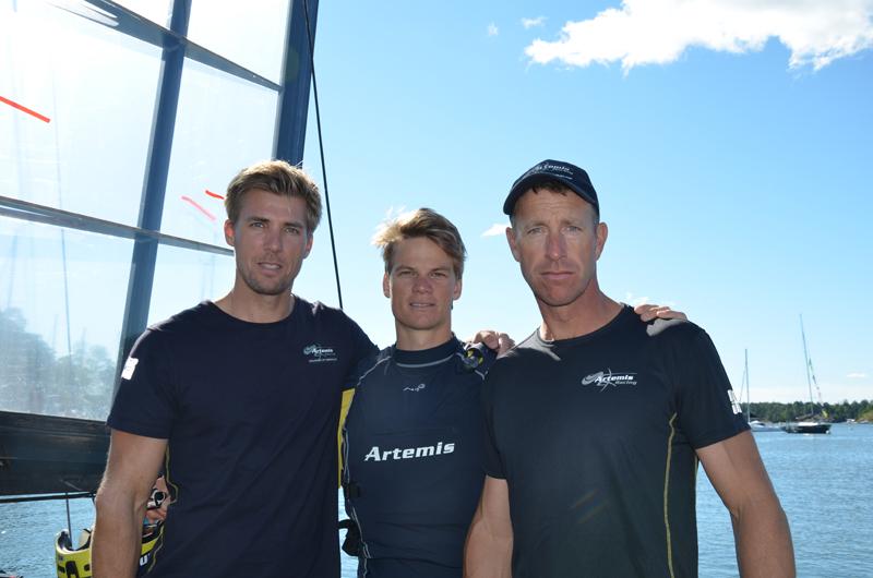 Anders Gustafsson, Kalle Torlén and Fredrik Lööf August 2015