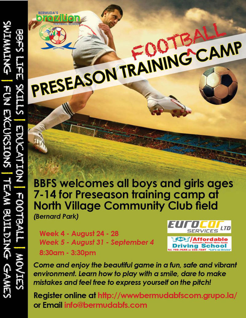 BBFS Preseason Training Camp poster