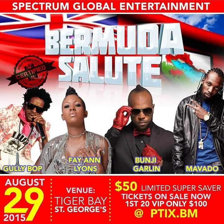 Bermuda Salute August 19 2015