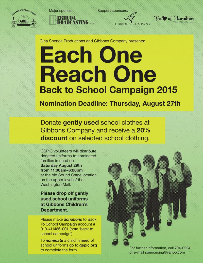 Each One Reach One BTS 2015 Flyer