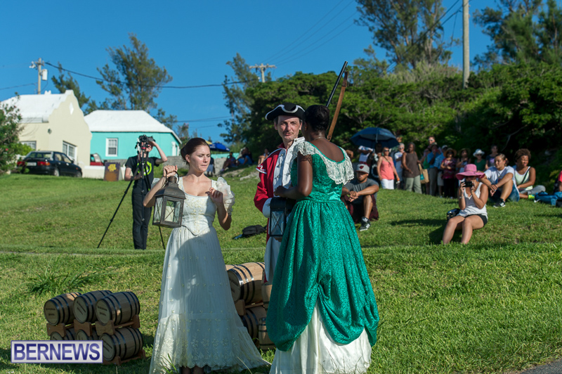Gunpowder Plot Reenactment Bermuda, August 15 2015-14