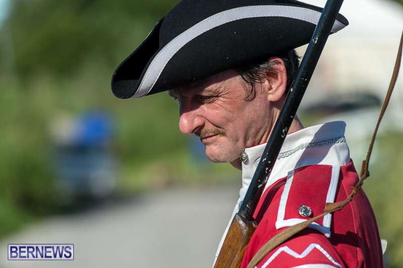 Gunpowder Plot Reenactment Bermuda, August 15 2015-2
