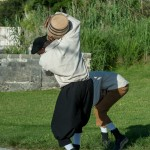 Gunpowder Plot Reenactment Bermuda, August 15 2015-24