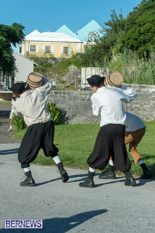 Gunpowder Plot Reenactment Bermuda, August 15 2015-25
