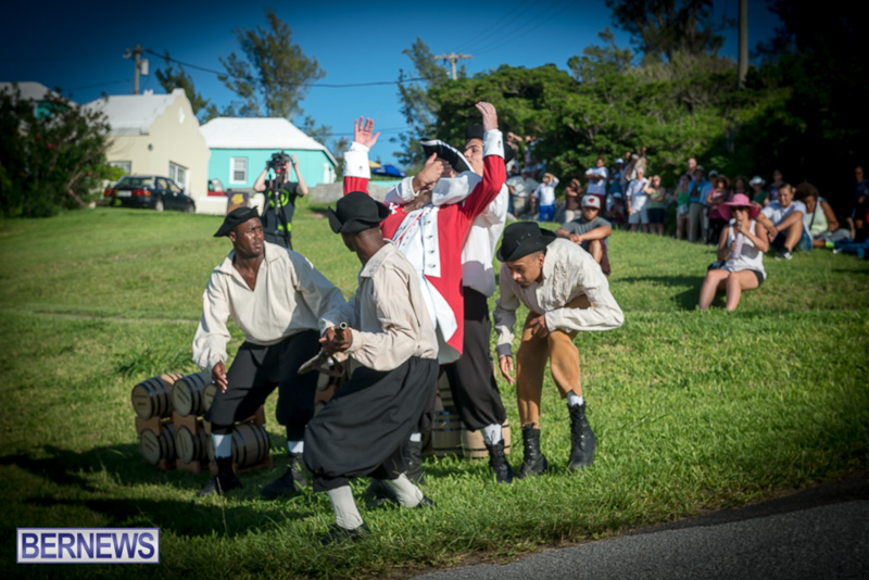 Gunpowder Plot Reenactment Bermuda, August 15 2015-88