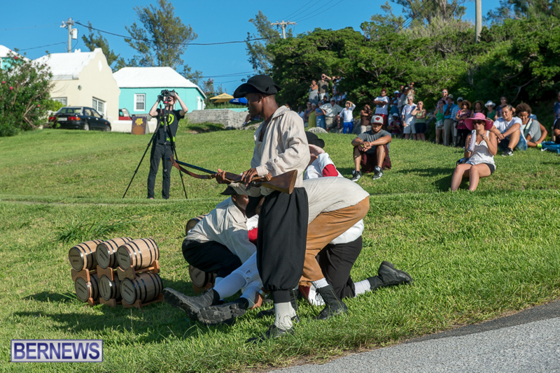 Gunpowder Plot Reenactment Bermuda, August 15 2015-90