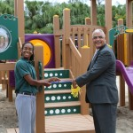 Parsons Road Playground Re-Opened (1)
