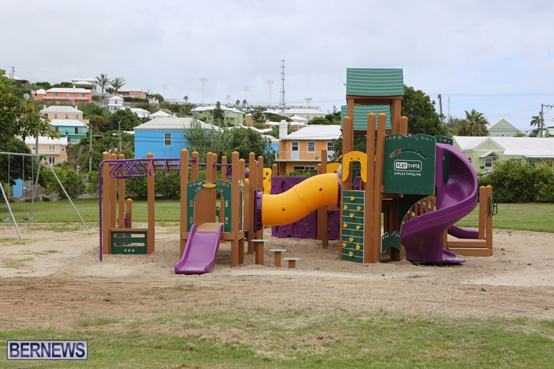 Photos/Video: Parsons Rd Playground Re-Opens - Bernews