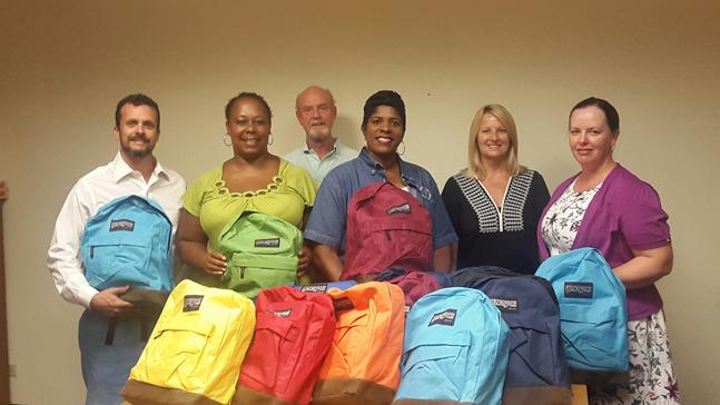 Rotary - School Supplies To Foster Children August 21 2015